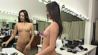 Exotic beauty Alina Li rides a cock like a real professional